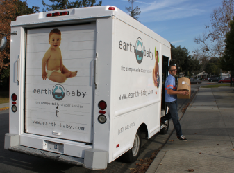 Earth Baby Diaper Service, serving the SF bay area